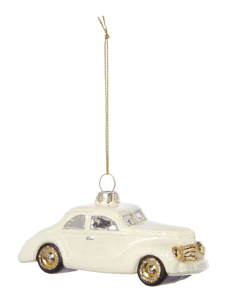 Linea Retro car decoration in cream