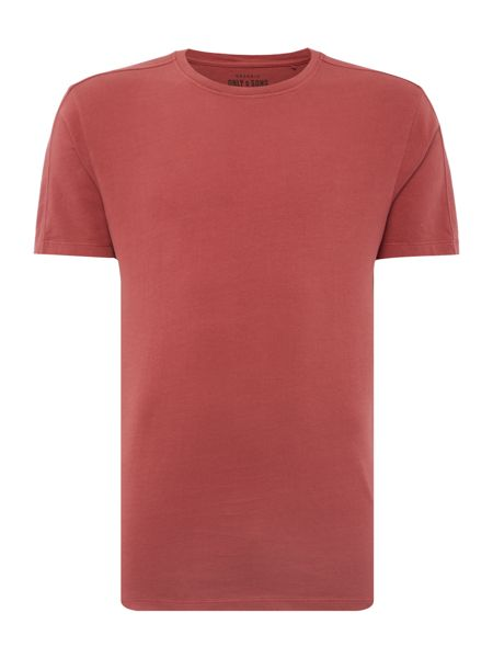 Only & Sons Organic Cotton Short Sleeve T-shirt