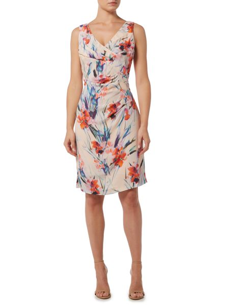 Ariella V neck wrap dress