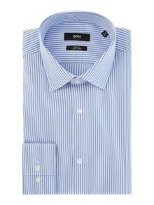 Hugo Boss Jenno Two Colour Stripe Shirt