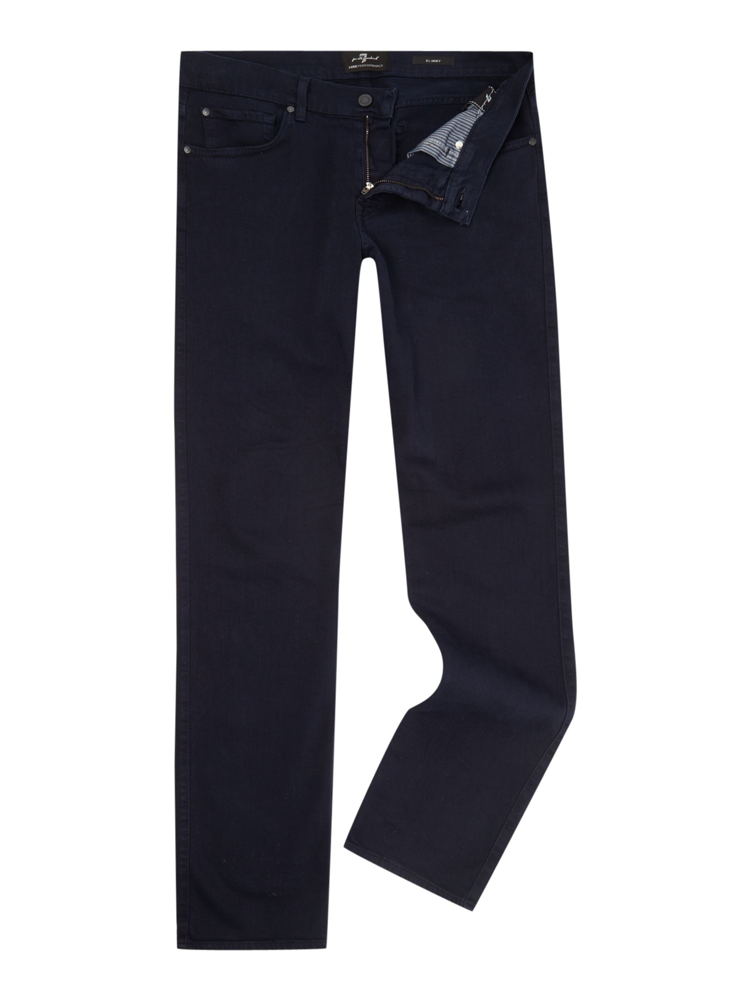 7 For All Mankind Men's 7 For All Mankind Slimmy Slim Fit Luxe Performance Colour Jeans, Navy