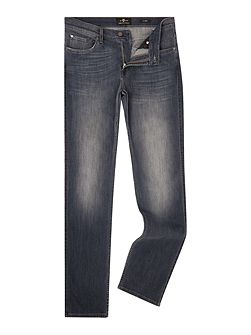 Slim Fit Luxe Performance Tex Grey Wash Jeans