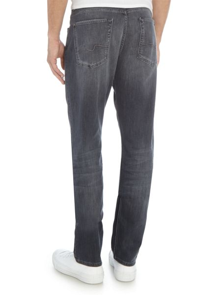 7 For All Mankind Slim Fit Luxe Performance Tex Grey Wash Jeans