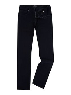 Straight Luxe Performance Soho Deep Blue Jeans