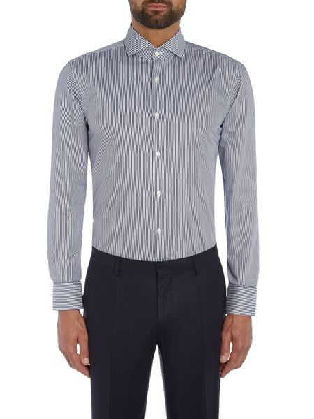 Hugo Boss Jason Bengal Stripe Shirt