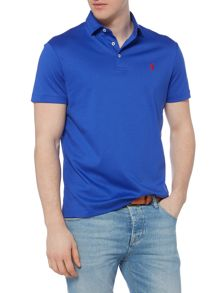 Polo Ralph Lauren Plain Custom Fit Pima Soft Touch Polo Shirt