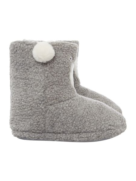 Therapy Polar Bear Slipper Bootie
