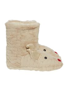 Therapy Rudolph Slipper Bootie