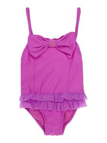 Angel's Face Girls Roma Bow Detail Swimsuit