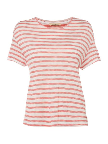 Lee Cropped stripe tee
