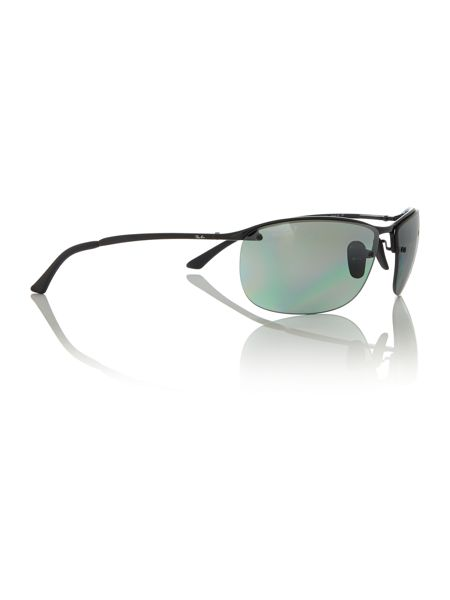 Ray-Ban Black rectangle RB3542 sunglasses