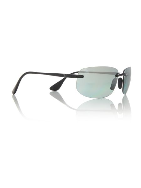 Ray-Ban Black rectangle RB4254 sunglasses