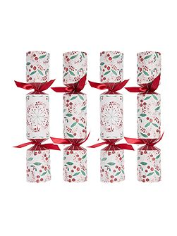 Pack of 10 `tis the season berry crackers