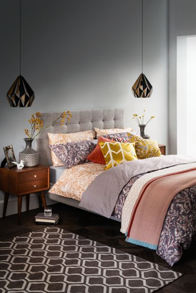 Living by Christiane Lemieux Bailey king size bed