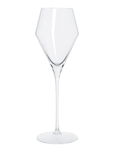 Casa Couture Claudia white wine crystal glass set of 4