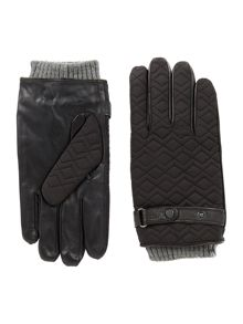 Ted Baker Liam Cube Style Quilted Glove