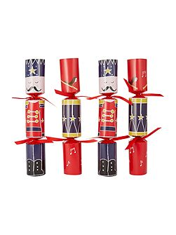 Pack of 6 Red family photo fun crackers