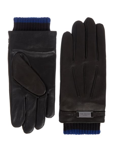 Ted Baker Platea Core Leather Plate Glove