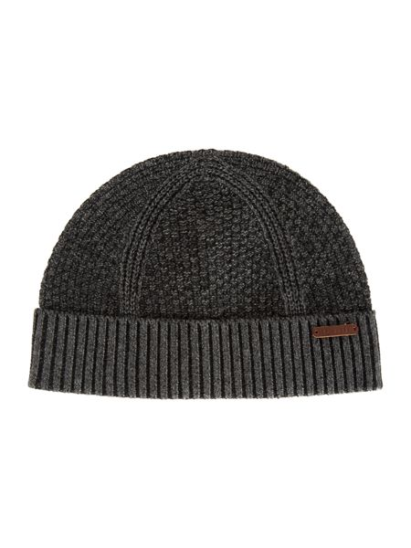 Ted Baker Ozzy Rib And Wafle Knitted Hat
