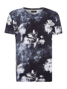 Religion Tropiz regular fit palm tree printed t shirt