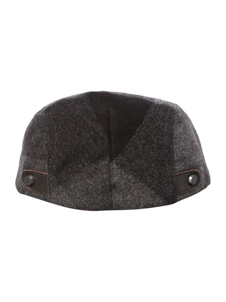 Ted Baker Peakz Speckled Checked Flat Cap