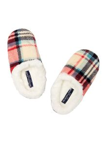 Dickins & Jones Eloise Check Slipper