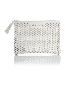 Seafolly Double dot clutch bag