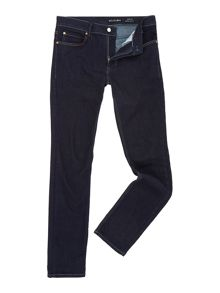 Religion Noize Dark Blue Skinny Fit Jeans