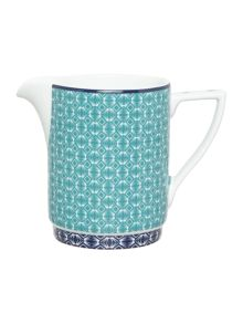Ted Baker Langdon Blue Cream Jug