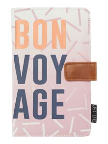 Disaster Jetlag Bon Voyage travel wallet
