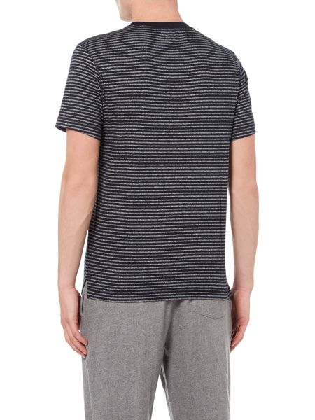 Linea Crew Tee With Stripe