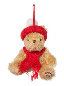 Linea Mini Fraser bear tree decoration