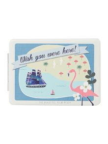 Disaster Memento Beach Compact Mirror