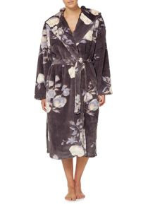 Linea Floral Lux Robe