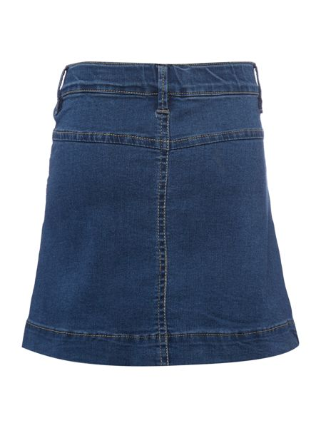 name it Girls Denim Skirt