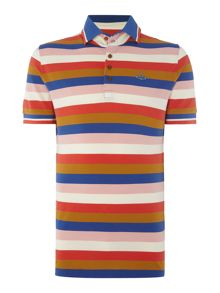 Vivienne Westwood Regular fit block stripe polo shirt