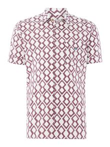 Vivienne Westwood Slim fit diamond print shirt