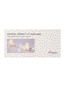 Linea Crystal light up garland