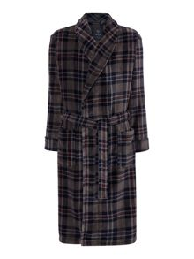 Howick Grey Check Robe
