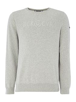 Radar crew neck sweat