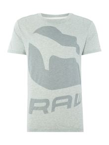 G-Star Forceq regular fit solid logo print t shirt