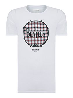 The beatles drum print t-shirt
