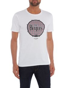 Ben Sherman The beatles drum print t-shirt