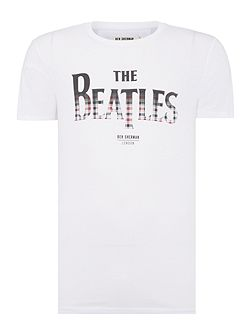 The beatles gingham t-shirt