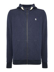 G-Star Varos Zip Thru Hoodied Sweat Top