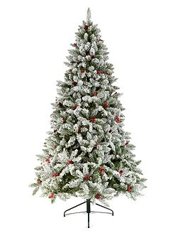 5.5ft St Moritz Frosted Tree