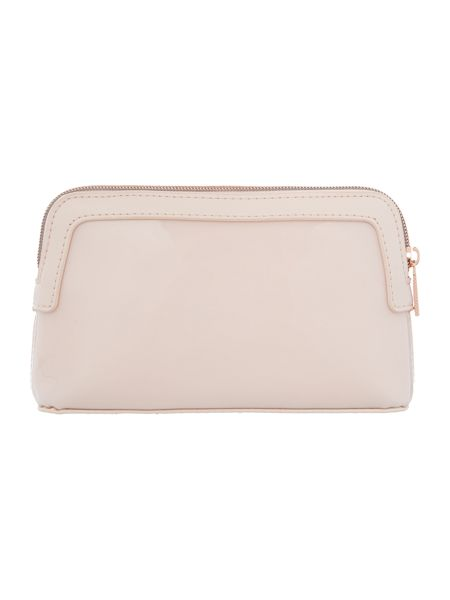 Ted Baker Rosamm light pink small cosmetic bag