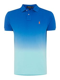Custom-Fit Dip Dye Short Sleeve Polo
