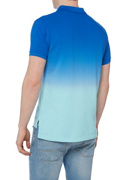 Polo Ralph Lauren Custom-Fit Dip Dye Short Sleeve Polo