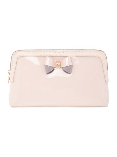 Ted Baker Madlynn light pink large cosmetic bag